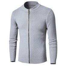 a037708a2cf Фирменная новинка Повседневное шерсть жаккардовый свитер Кардиган зимние  модные теплые