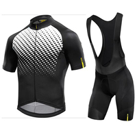 Mavic Cycling Jersey 2018 Summer Team Short Sleeves Quick Dry Cycling Set Bike Clothing Ropa Ciclismo