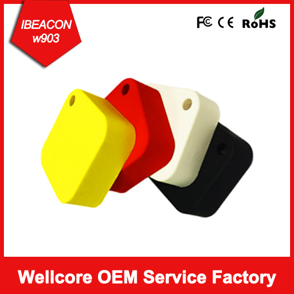 2016 iBeacon tag Bluetooth Low Energy BLE 4.0 beacon Solar ibeacon with Colorful housing