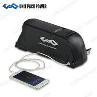 48V 14Ah Down Tube Ebike Battery Pack with Sanyo Cell USB Port 48V Battery for 8Fun/Bafang 1000W Mid/Hub motor