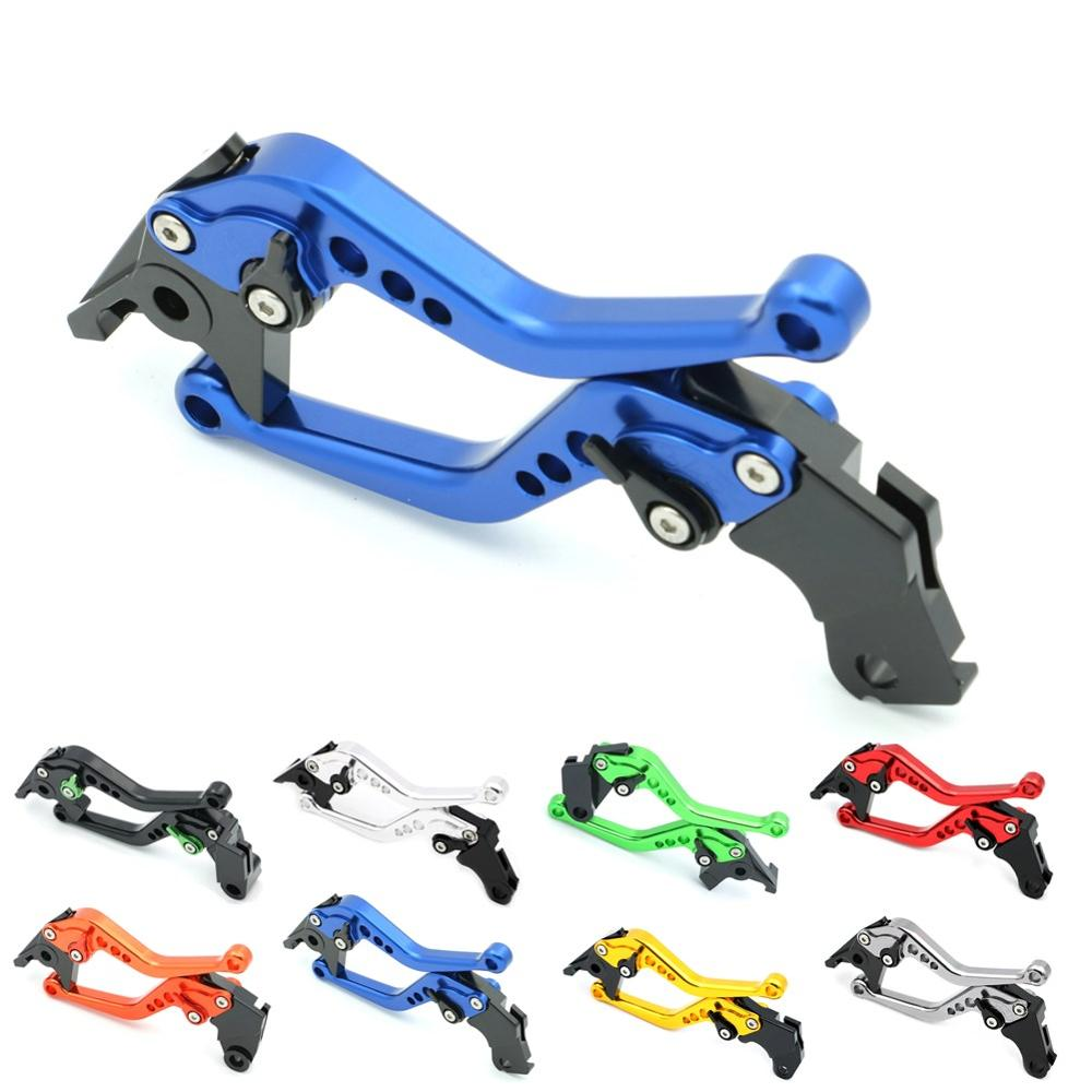 Billet CNC Aluminum Adjustable Clutch Brake Levers for Yamaha YZF R1 R1M R6 FZ1 FZ6 FAZER FZ6R FZ8 MT-07 FZ-07 MT-09 FZ-09 V-MAX cnc billet adjustable long folding brake clutch levers for yamaha fz6 fazer 04 10 fz8 2011 14 2012 2013 mt 07 mt 09 sr fz9 2014