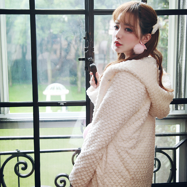 Peluche Keqi 2018 Couture Hiver Épais Loisirs Chaud C1298 En Lâche Corée D'hiver Coton Manteau Bobon21 Velours Femelle Nouvelle Veste qSxq4FO