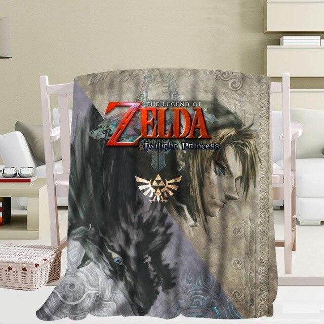 New Arrival Zelda Blankets 3D Printing Soft Blanket Throw on Home/Sofa/Bedding Portable Adult Travel Cover Blanket