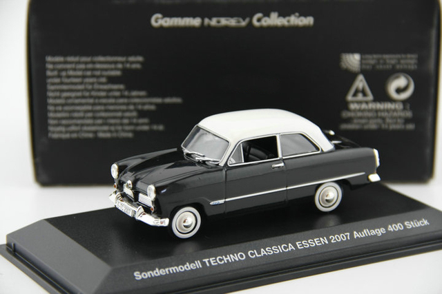 Out of print NOREV 1:43 mondermodell alloy classic car model Alloy car models Favorite Model