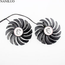 2 unids/lote 95MM PLD10010S12HH ventilador para MSI GTX 1060, 1070, 1080 TI RX 470 de 570 RX580 GAMING X tarjeta de video GPU Fan PLD10010B(China)