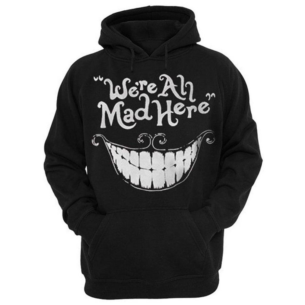 Cheshire Cat Smile Hoodie
