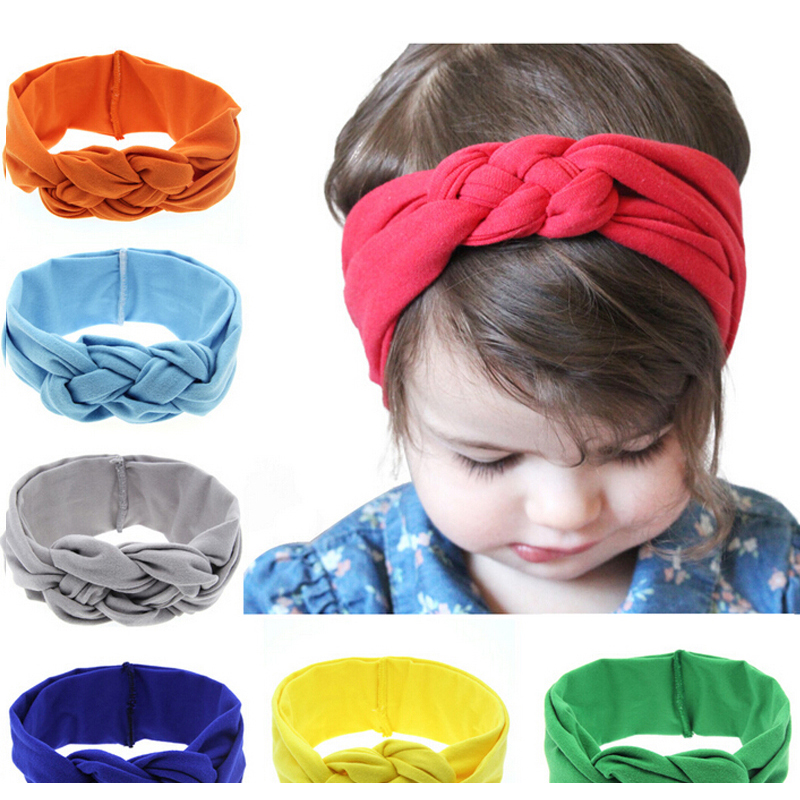 1PC 2017 newborn ears headband high quality armor elasticity Headwear kids hair bands hair accessories KT053