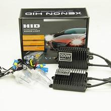 ceramic 100w xenon H7 H11 9005 9006 H1 H3 4300K 6000K 8000K car 12v hid xenon hedlight kit