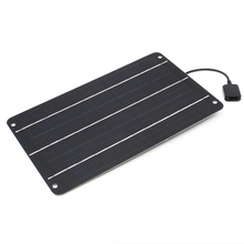Taşınabilir 6 W 10 W güneş enerjisi şarj cihazı güneş panelleri Şarj ile Usb Bağlantı Noktası Pil Güç Cep Telefonları için 5 V