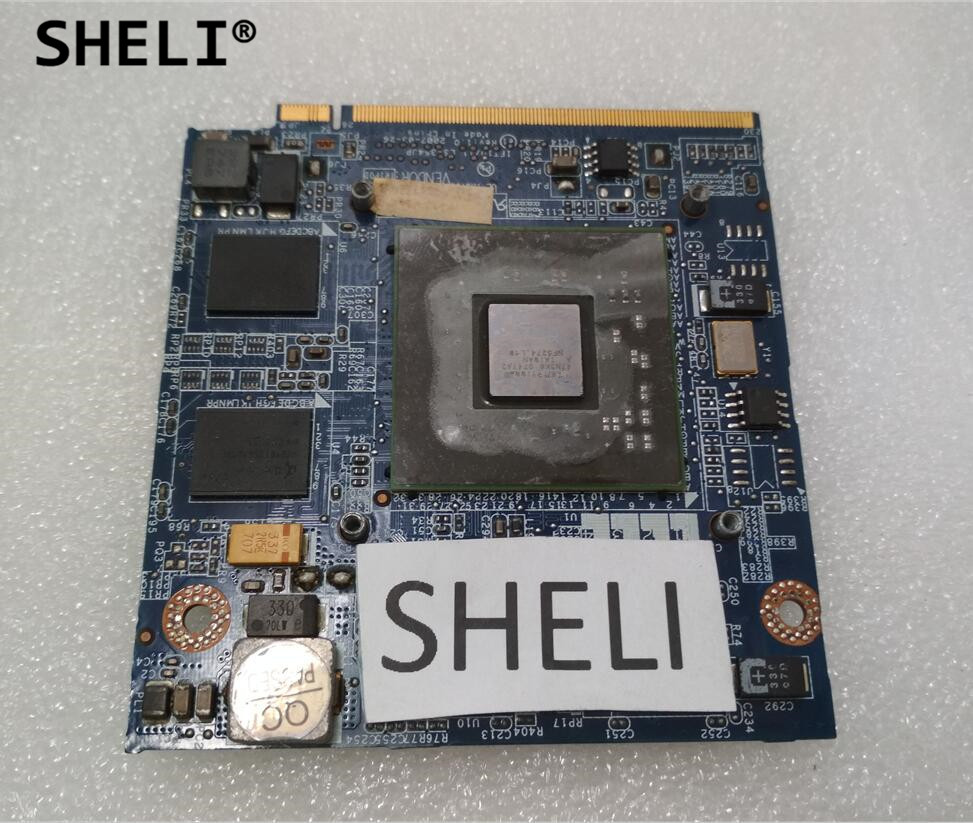 SHELI G86-731-A2 8400M 256MB VGA Video Graphics Card For LENOVO E41 K41 K42 E42A E42L LS-354JP vg 86m06 006 gpu for acer aspire 6530g notebook pc graphics card ati hd3650 video card