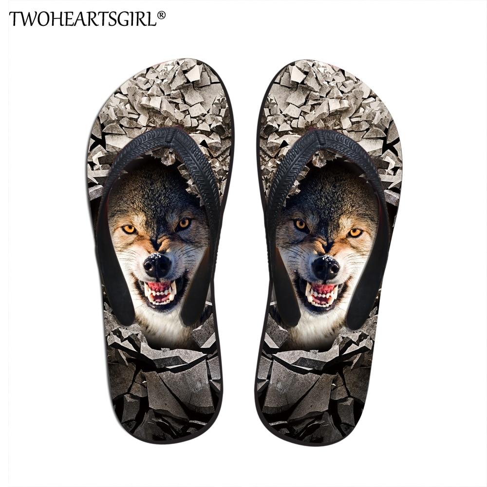 Twoheartsgirl New Fashion Mens Cute Pug Dog Flip Flops Soft Street Casual Walking Shoes Comfortable Summer Cool Men Flip-flops Goods Of Every Description Are Available Flip Flops