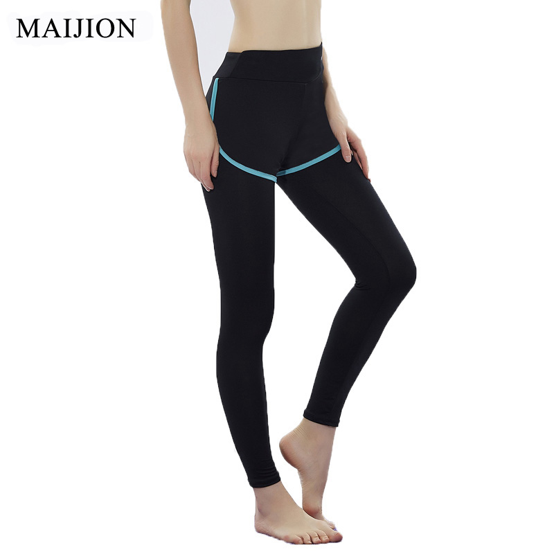 MAIJION Women Stretch Yoga Pants ,Quick Dry Gym Fitness