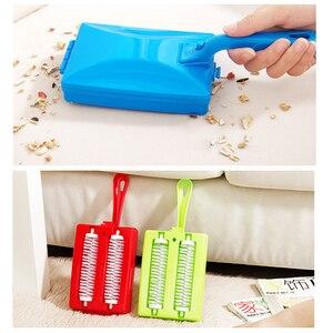 Image 3 - Brosse de nettoyage portable pour le canapé lit, pour enlever la poussière, les peluches, les poils de chiens et de chats, outils de nettoyage