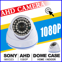 HD Cctv AHD Camera Digit Full 720P 960P 1080P Sony Imx323 Chip Dome Security Vidico 36Led