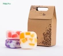 3X100g handmade soap , essential oil, moisturizing and nourishing skin , handmade, gift sets цена