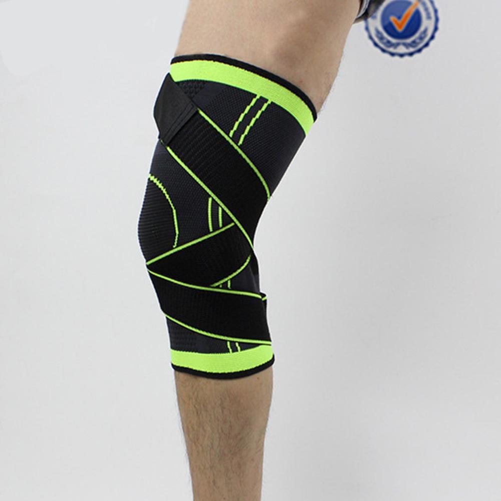 Mounchain 3D Weaving Protective Compression Knee Sleeve Men Women Knee Brace Support Sports Activities