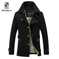 Autumn New jacket men's thin coat men's business casual long section washed windbreaker jacket Coat size M 4XL 5XL JH579