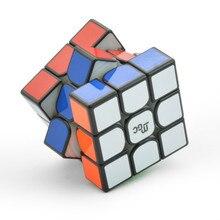 Enhanced Version YJ MGC 3x3x3 Magnetic Magic Cube Black Yongjun MGC Speed Cube for Brain Training Toys For Children Kids philips mgc lamps gkv