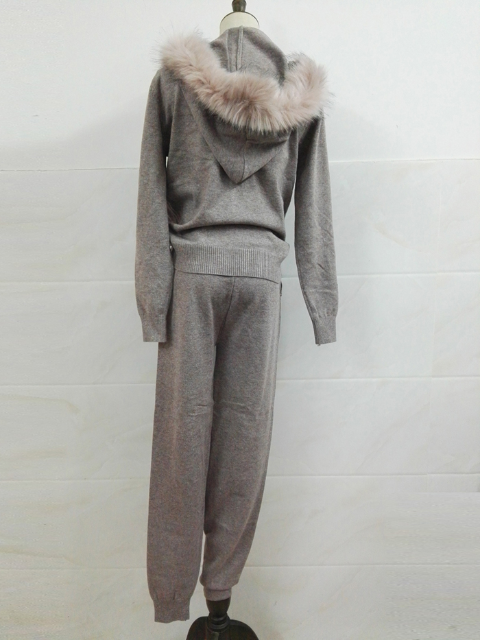 Winter Knitted Suit for Women 12