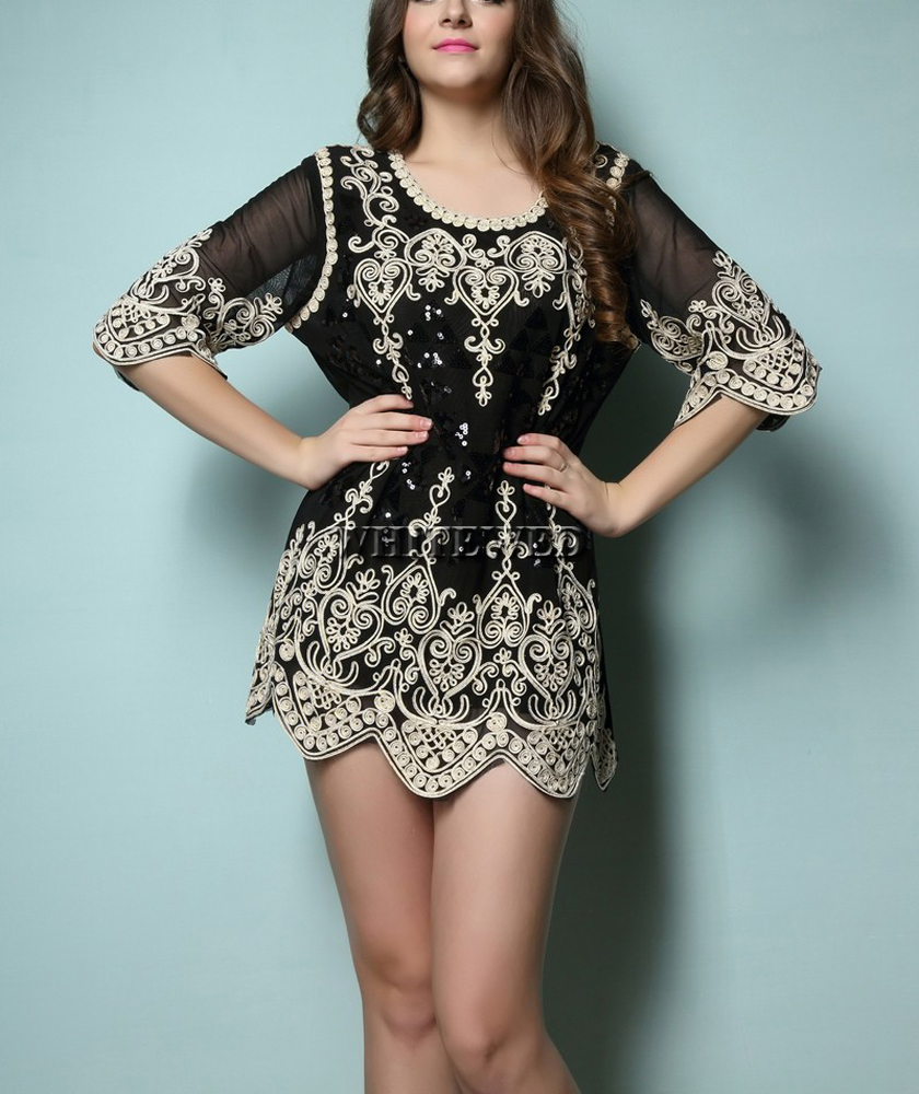 New modern dress styles - 1920 S 20 S Bling Embroideried Modern Art Deco Themed The Flapper Style Party Fancy Tunic Costumes Dress