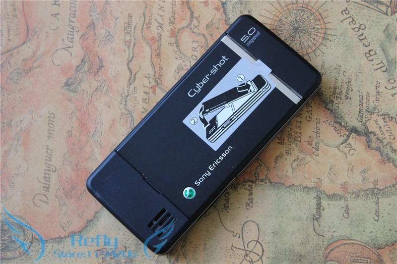 Refurbished phone Sony Ericsson C902 3G 5MP Bluetooh MP3 MP4 Player black 4