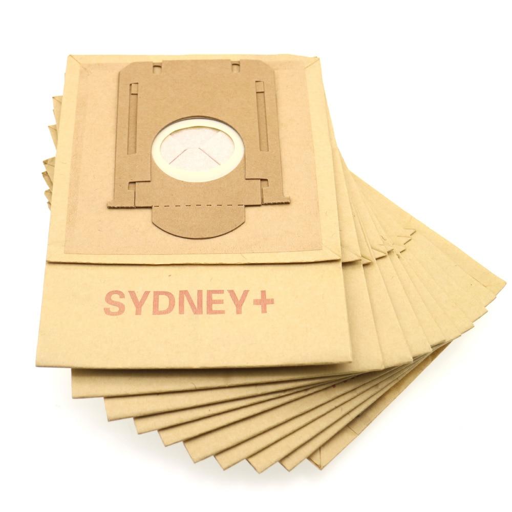 10 шт. многофункциональный для уборки пыли сумка для Philips FC8406 FC8410 FC8412 HR8353 HR8354 HR8360 HR8370 FC8202 пылесос Запчасти