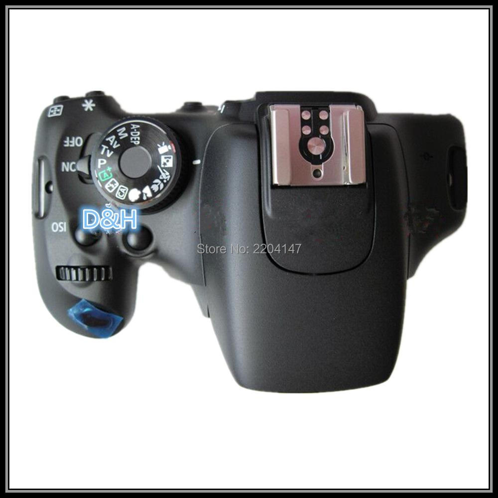 Original  Camera Repair Replacement Parts For EOS 600D Rebel T3i Kiss X5 Top Cover For Canon