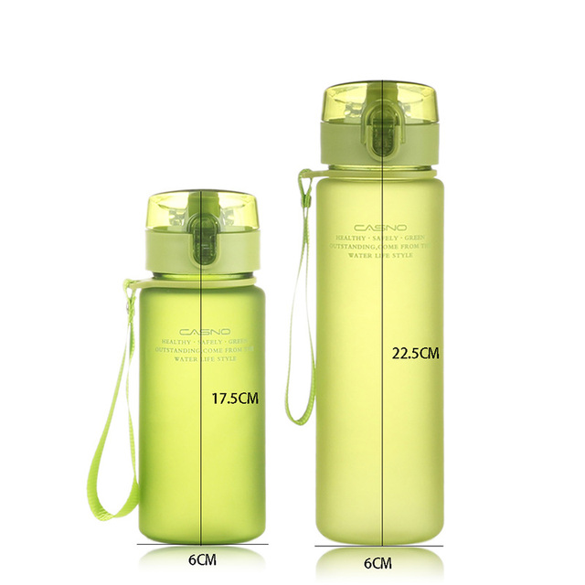 CURGE Flip Top Lid Direct Drinking Plastic water bottle 400ml 560ml #1107 2