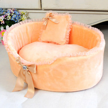 Free Shipping Fashionable And Elegant Design Dog Beds For Small Dogs Winter Pet Dog Pad House