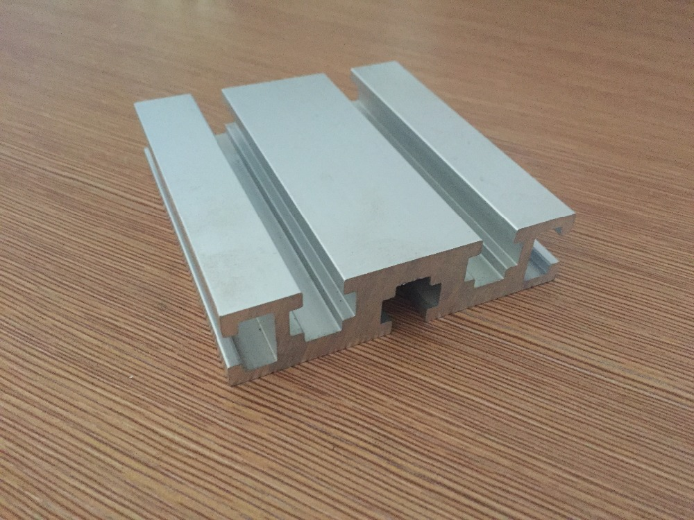 2080 aluminum extrusion profile white length 100mm industrial aluminum profile workbench 1pcs in. Black Bedroom Furniture Sets. Home Design Ideas