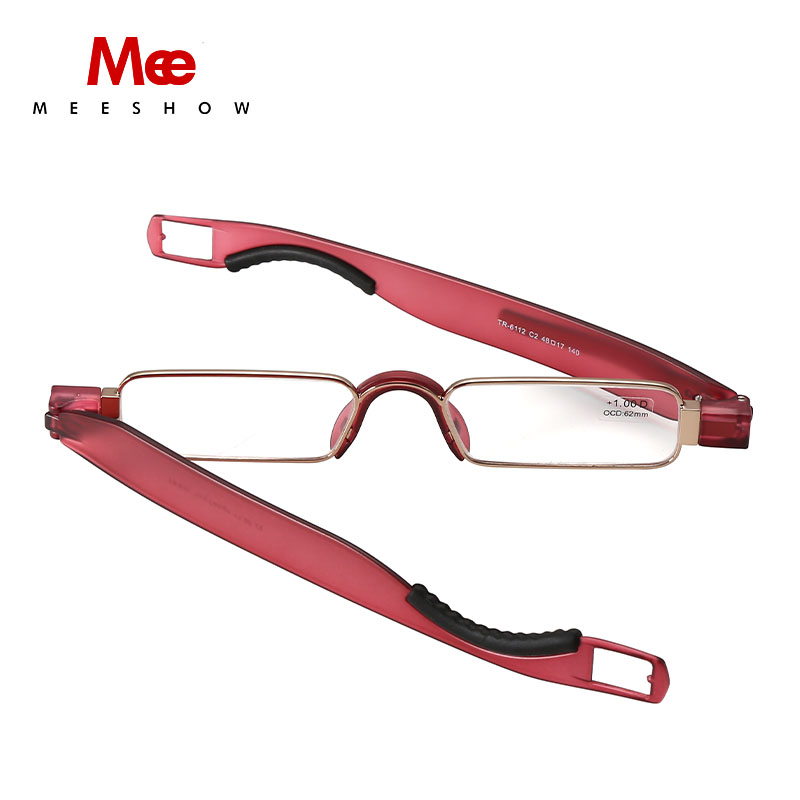 2019 folding Reading Glasses TR90 Resin Lens Men Women Stainless - Apparel Accessories - Photo 4
