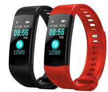 купить Y5 Smart Band Heart Rate Blood Pressure Monitor High Brightness Colorful Screen Smart Bracelet Wristband Notification дешево