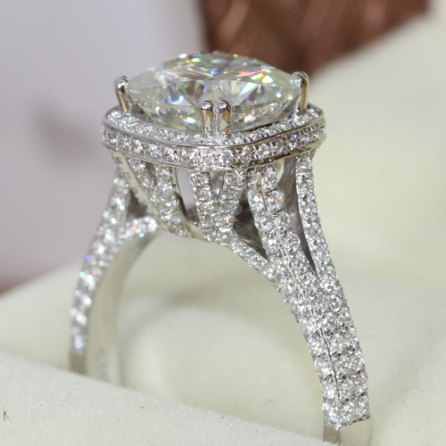cut setting micro for i aliexpress princess rings cz wedding gold cluster ring women white plated cubic top link zirconia
