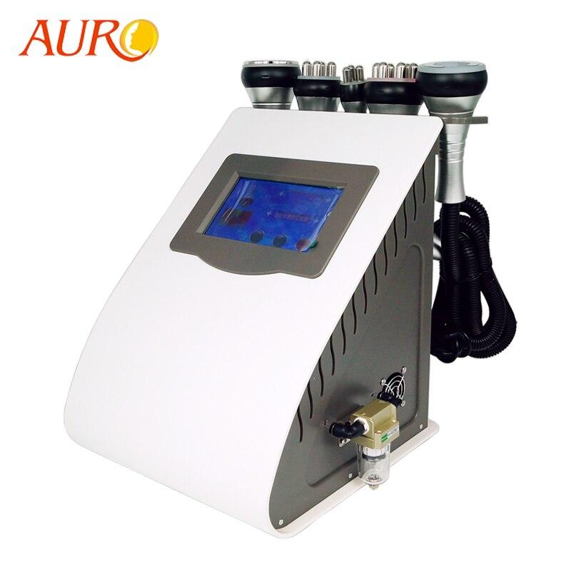 Auro beauté 2019 nouvelle Machine de Cavitation RF/perte de poids de Cavitation ultrasonique amincissant la Machine de radiofréquence livraison gratuite