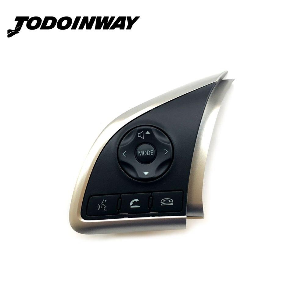 Volante Del Volume Audio Bluetooth Interruttore di Controllo di Crociera Pulsante Per Mitsubishi Outlander 2013 2014 2015 Mirage 2014 2015