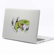 3D наклейки для ноутбука с динозавром, для Macbook Pro Air retina 11 12 13 15 дюймов hp Dell Mac Book, наклейка для ноутбука