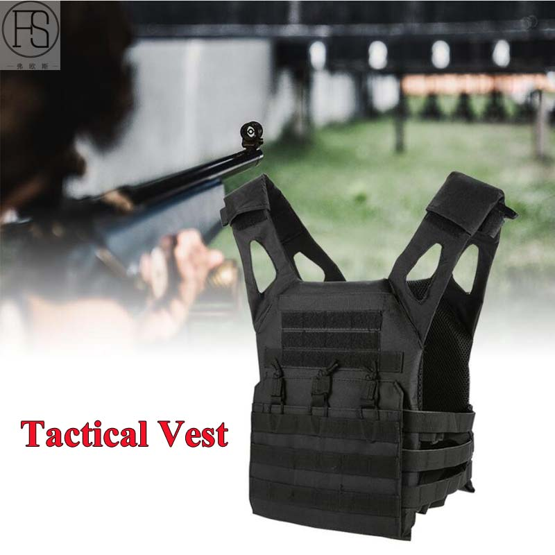Tactical Vest Military Equipment Tactical Airsoft Vest Paintball Hunting Vests Outdoor CS Combat Assault Plate Carrier Vests