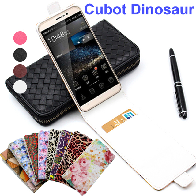 Classic Luxury Advanced Leather Flip Colorful Leather Case For Cubot Dinosaur Phone Cases For Cubot Note S Cover With Card Slot