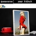 "Carbaystar octa core 9.6 polegada inteligente android 9.6 ""Tablet PC Android 4.42 Tablet pcs IPS GPS Tela S960 crianças laptop 4G LTE"
