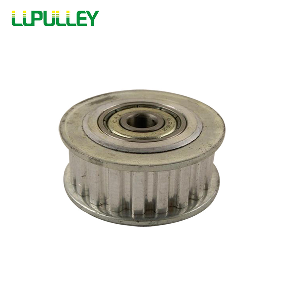 LUPULLEY Idler Pulley XL Type 20T Synchronous Wheel Bore 5/6/7/8/10/12/15mm With Bearing For Width 10mm XL 20T Timing belt 1PC