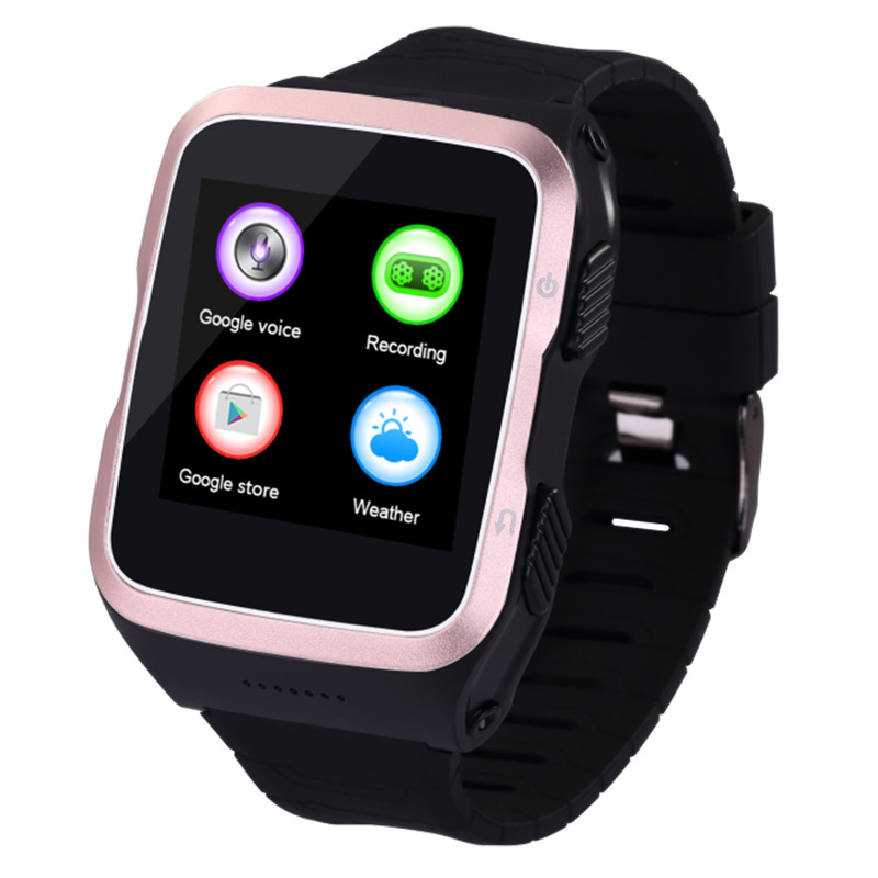 ZGPAX S83 Bluetooth Smartwatch Android 5.1 Smart Watch Phone With GPS WiFi WCDM 5.0MP Camera Sleep Monitor