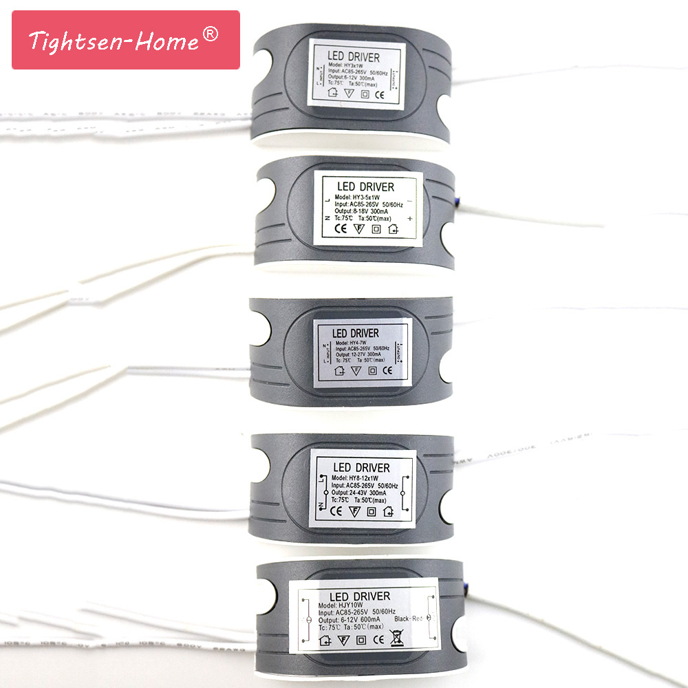 <font><b>LED</b></font> External <font><b>driver</b></font> 1-3W,4-7W,8-12W,12-18W,18-25W,24-36W power supply constant current Lighting Transformers for DIY <font><b>LED</b></font> lamp image