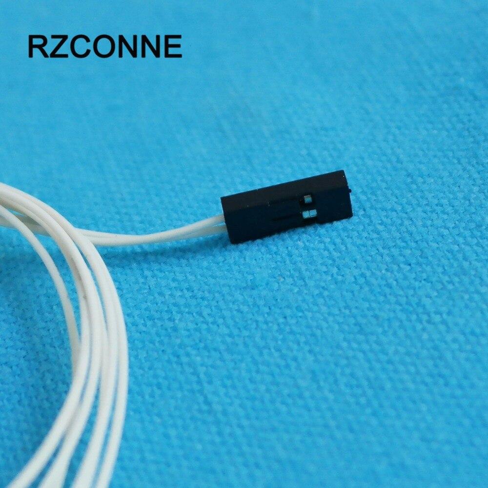Nº2pcs NTC 3950 100K Thermistors Temperature Sensor 2Pin Female Pin ...