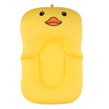2-in-1 Foldable Baby Bath Tub Pad And Cushion Chair