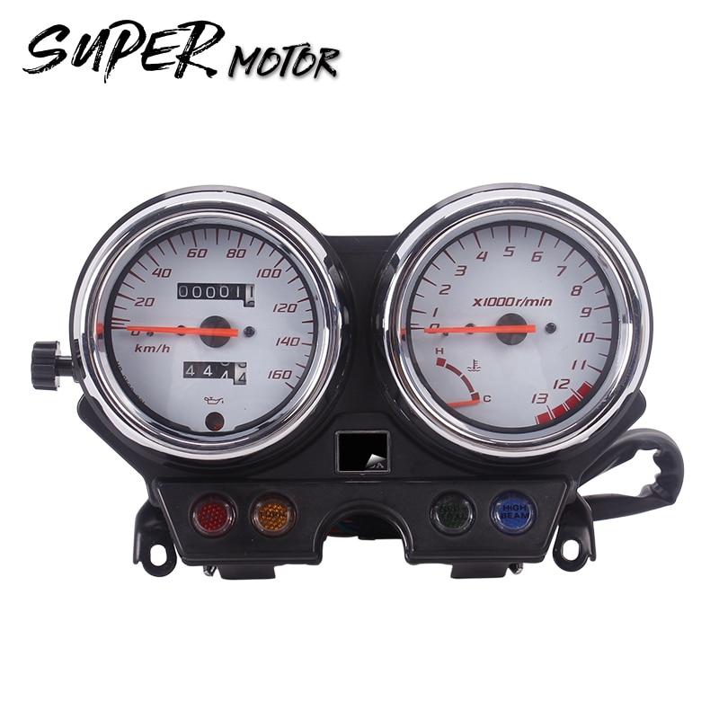 Motorfiets Snelheidsmeter Toerenteller Meter Gauge - Motoraccessoires en onderdelen - Foto 1
