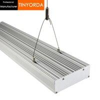Tinyorda TG12040 5 Pcs (1 מ 'אורך) 180W Led לגדול אור קירור פרופיל הידרופוני Led לגדול תאורה [מקצועי יצרן]