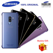 Samsung Original smartphone cover for Galaxy S9 Plus with Acrylic Material Anti-Drop Transparent Case 4 Color Avialable(China)