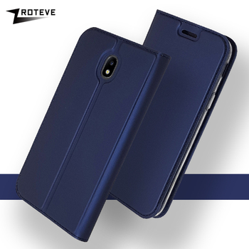 ZROTEVE Cover For Samsung J3 J5 J7 2017 Case Eurasian Version Flip Leather Cover For Galaxy J330 EU Phone Case J530 J730 EU Capa