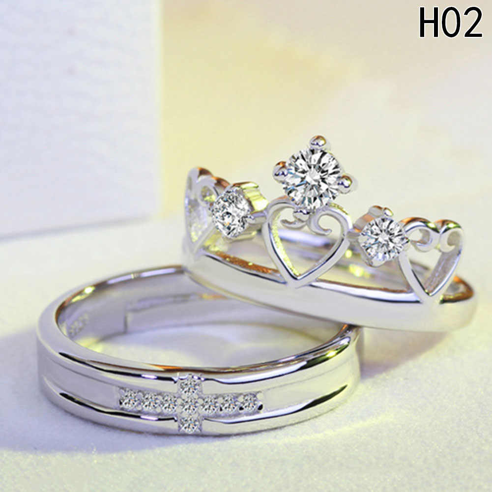 Newest lovers` ring Charm  Necessaries New Style Perfect Grateful Hot Vintage Special Ring  Item Couple Pair Set