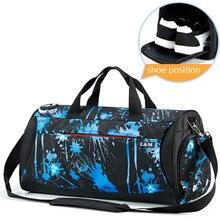 Sport Gym Bag for Fitness Dry Wet Separation Men Women Training Outdoor Travel Bags Handbag Shoulder Yoga Bag with Shoes Storage недорого